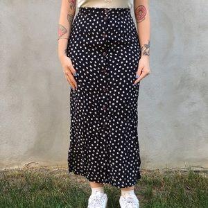 Dresses & Skirts - Little Daisy navy linen skirt
